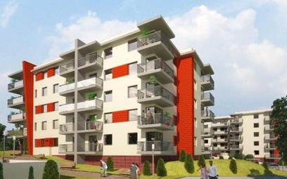 Ceny mieszkań na osiedlu Słoneczny Stok wahają się od 4690 do 4980 zł za mkw.