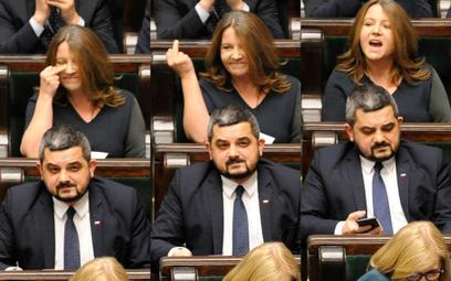 Sondaż: Czy Lichocka powinna zostać ukarana za gest wykonany w Sejmie?