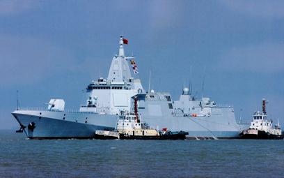 Niszczyciel Lhasa wcielony do chińskiej floty