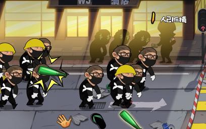 Chińczycy stworzyli grę, w której zabijasz protestujących w Hongkongu