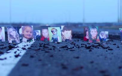 Dzieci, ofiary wojny w Donbasie