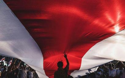 Flaga wolnej Białorusi