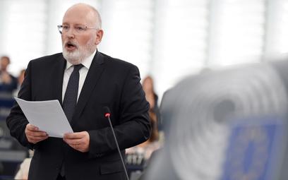 Frans Timmermans w Polsce raczej nie kojarzy się dobrze, nie tylko zwolennikom PiS