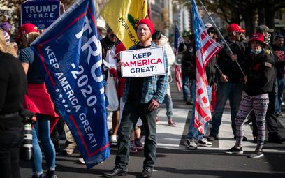 USA: Wyborcy Trumpa wyjdą na ulice. Uważają, że sfałszowano wybory