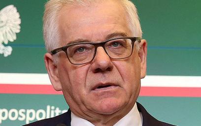 Czaputowicz: Europa powinna łączyć, a nie dzielić