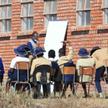 Lekcje pod gołym niebem w Zimbabwe