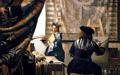 "Johannes Vermeer ""Sztuka malowania"""