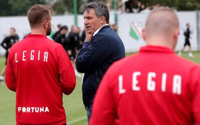 W niedzielę zadebiutuje nowy trener Legii Romeo Jozak