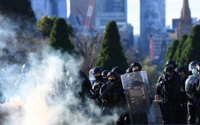 Policja na ulicach Melbourne