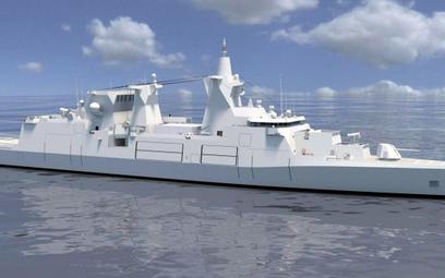 Wizja fregaty typu MKS180. Rys./ANP