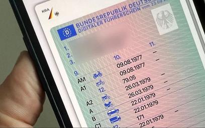 Niemcy wprowadzają swoje cyfrowe prawo jazdy