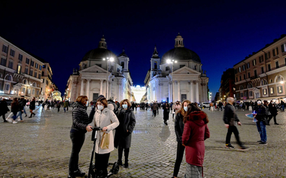 """Koronawirus. Włosi wprowadzą """"świąteczny"""" lockdown? Cały kraj """"czerwoną strefą""""?"""