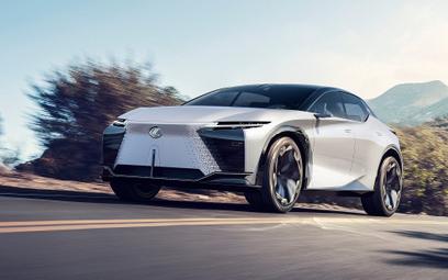 Lexus LZ-F: Wizja na najbliższą przyszłość