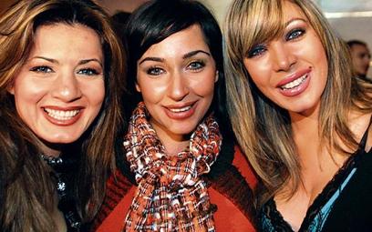 Prezenterki arabskich stacji od lewej: Nagla Badr (MBC), Marhan i Eman Abu Taleb (TV Rotana) fot: AM