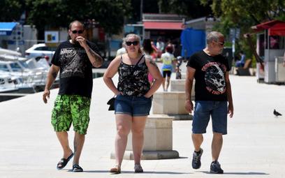 W Chorwacji przybywa turystów