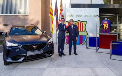 Cupra wyłącznym partnerem motoryzacyjnym FC Barcelona