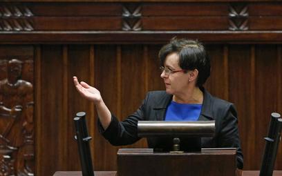 Joanna Kluzik-Rostkowska, szefowa MEN w Sejmie