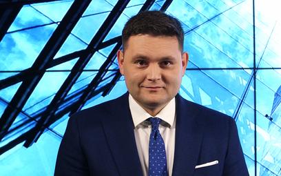 """Tomasz Ciąpała, prezes zarządu Lancerto SA. Fot. """"Rzeczpospolita"""""""