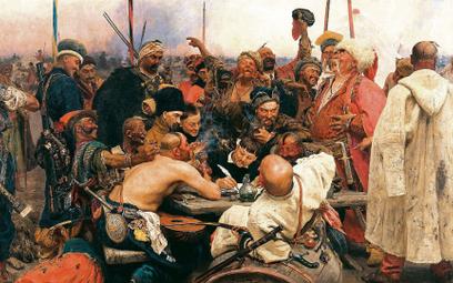 """Legenda walki ioporu przeciwko """"polskim panom"""" konstytuowała tożsamość Zaporożców. Na zdjęciu: Ilja"""