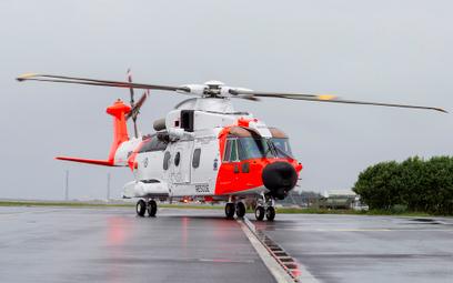 Śmigłowiec Leonardo AW101 w wersji poszukiwawczo-ratowniczej dla Norwegii.