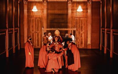 """""""Król Lear"""" reżyseria Jan Klata, Stary Teatr w Krakowie, premiera, grudzień 2014"""