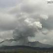Erupcja wulkanu Aso
