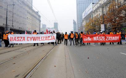 Organizatorzy Marszu Niepodległości żądają dymisji komendanta głównego policji