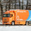 Wodorowa ciężarówką Hyundai Xcient