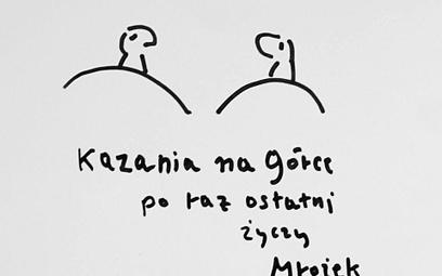 """Ostatni rysunek Sławomira Mrożka dla """"Rzeczpospolitej"""""""