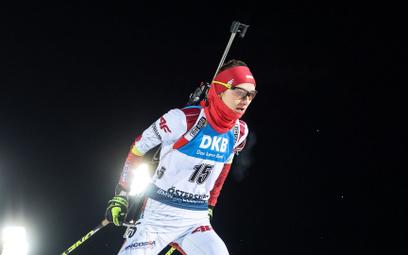 Monika Hojnisz-Staręga swój jedyny medal mistrzostw świata (brązowy) zdobyła w biegu masowym osiem l