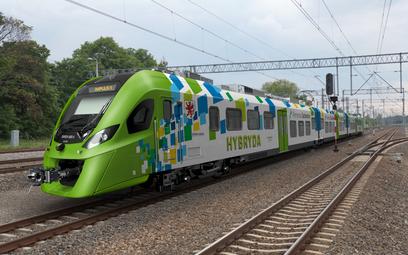 Hybrydowy pociąg Impuls wyprodukowany przez Newag