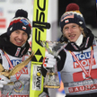 Kamil Stoch i Dawid Kubacki, czyli pierwszy i trzeci zawodnik w ostatnim Turnieju Czterech Skoczni
