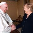 Kanclerz Angela Merkel była w czwartek na audiencji u papieża Franciszka, piątej i prawdopodobnie os