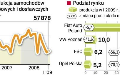 W 2008 r. padł rekord. Produkcja w Polsce sięgnęła niemal 991 tys. sztuk. W tym roku tego wyniku nie
