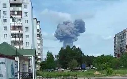 Potężna eksplozja w fabryce amunicji. Wielu rannych