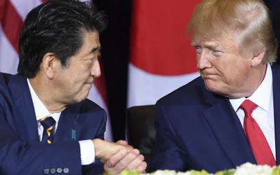 Donald Trump nazwał Shinzo Abe najlepszym premierem w historii Japonii