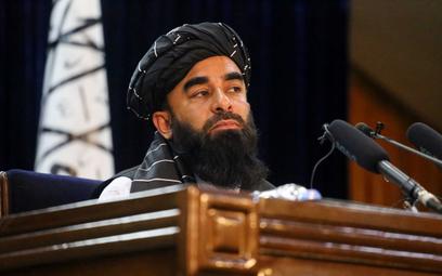 Rzecznik talibów Zabihullah Mudżahid