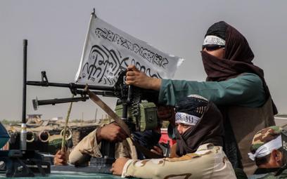 Bojownik talibów w Kandaharze