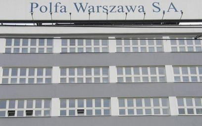 Polfa Warszawa czeka na informacje o inwestorach