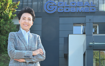 Magdalena Mielimonka, wiceprezes zarządu Global Cosmed SA.