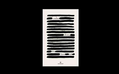 """Okładka książki """"Cudze słowa"""""""
