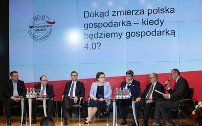 """Jak wykorzystać szanse w nowoczesnej gospodarce – zastanawiali się uczestnicy panelu """"Dokąd zmierza"""