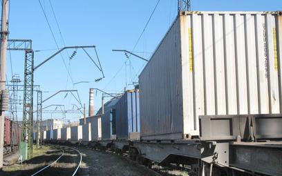 Przewozy kontenerów na Ukrainie