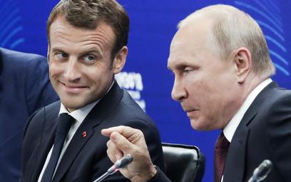 Putin: Emmanuel, nie przejmuj się, pomożemy