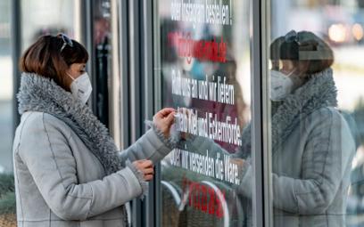Epidemia: Niemcy zawieszają pomoc dla firm