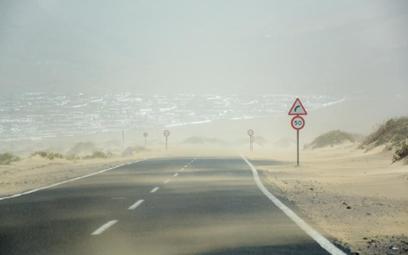 Wiatr znad Sahary odciął Wyspy Kanaryjskie