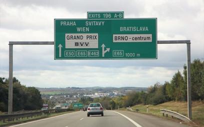 E-winiety w Czechach na autostradach od początku 2021 r.