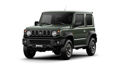 Suzuki Jimny: Mniejszy brat Mercedesa