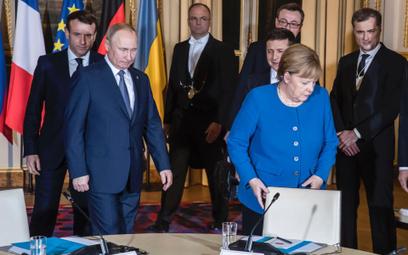 Berlin jest po stronie Kijowa, ale nie chce konfrontacji z Moskwą