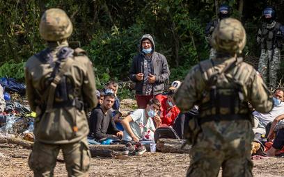 Część uchodźców opuściła Usnarz Górny